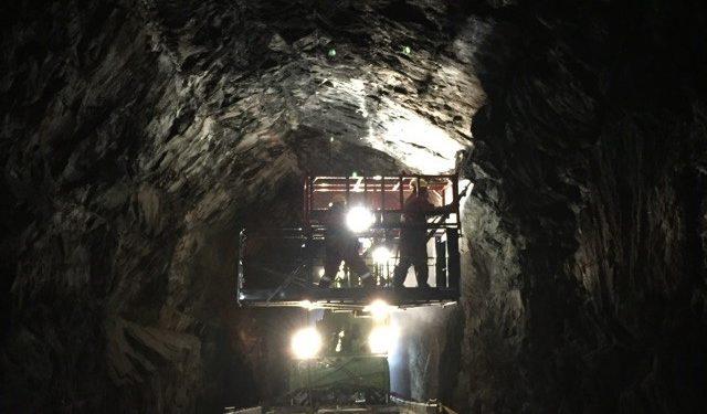 Construction - Paroi rocheuse Tunnel 1