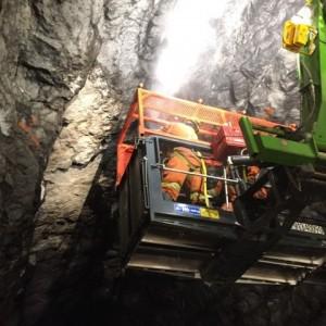 Construction - Paroi rocheuse Tunnel 3